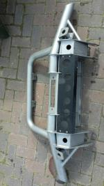 First Four Defender tubular lierbumper met airco