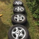 Set landrover freelander velg + band