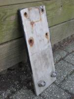 Tow drop plate