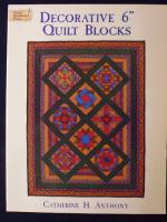 Decorative 6 Inch Quilt Blocks