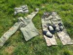 Paintball outfit (broek, shirt, vest)