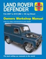 Repair manual Defender Puma
