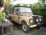 Roofrack rolbeugel land rover serie 88 109 pick-up